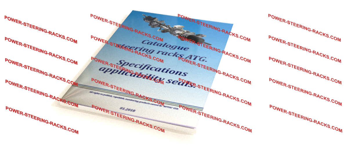 Catalogue steering racks ATG